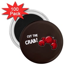 Cutthe Crab Red Brown Animals Beach Sea 2.25  Magnets (100 pack)