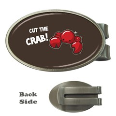 Cutthe Crab Red Brown Animals Beach Sea Money Clips (oval)