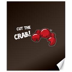 Cutthe Crab Red Brown Animals Beach Sea Canvas 8  X 10