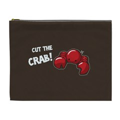 Cutthe Crab Red Brown Animals Beach Sea Cosmetic Bag (xl)