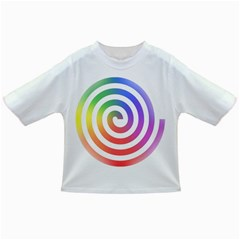 Circle Purple Blue Red Green Yellow Infant/toddler T Shirts