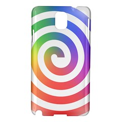 Circle Purple Blue Red Green Yellow Samsung Galaxy Note 3 N9005 Hardshell Case