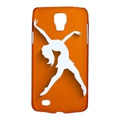 Dance Dancing Orange Girl Galaxy S4 Active