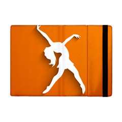 Dance Dancing Orange Girl iPad Mini 2 Flip Cases
