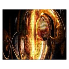 Digital Art Gold Rectangular Jigsaw Puzzl