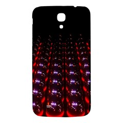 Digital Balls Lights Purple Red Samsung Galaxy Mega I9200 Hardshell Back Case