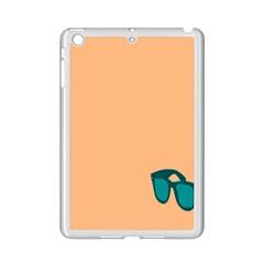 Glasses Blue Orange iPad Mini 2 Enamel Coated Cases