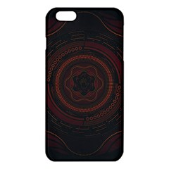 Hand Illustration Graphic Fabric Woven Red Purple Yellow Iphone 6 Plus/6s Plus Tpu Case
