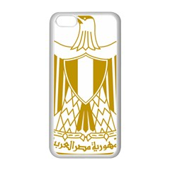 Coat of Arms of Egypt Apple iPhone 5C Seamless Case (White)