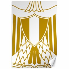 Coat of Arms of Egypt Canvas 24  x 36