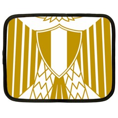 Coat of Arms of Egypt Netbook Case (Large)