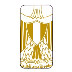 Coat of Arms of Egypt Apple iPhone 4/4s Seamless Case (Black)