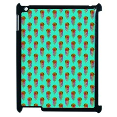 Jellyfish Large Apple Ipad 2 Case (black)