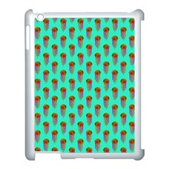 Jellyfish Large Apple Ipad 3/4 Case (white)