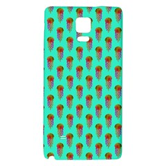 Jellyfish Large Galaxy Note 4 Back Case