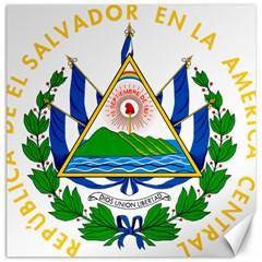 Coats of Arms of El Salvador Canvas 20  x 20
