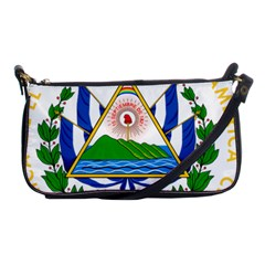 Coats of Arms of El Salvador Shoulder Clutch Bags