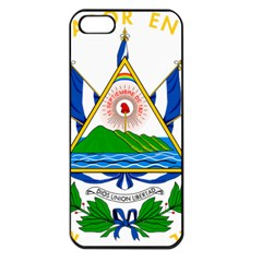 Coats of Arms of El Salvador Apple iPhone 5 Seamless Case (Black)