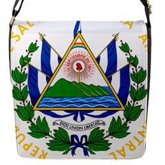 Coats of Arms of El Salvador Flap Messenger Bag (S)