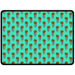 Jellyfish Large Fleece Blanket (large)