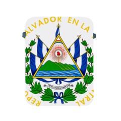 Coat of Arms of El Salvador Apple iPad 2/3/4 Protective Soft Cases