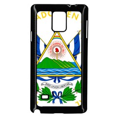 Coat of Arms of El Salvador Samsung Galaxy Note 4 Case (Black)