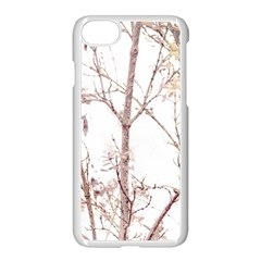 Textured Nature Print Apple Iphone 7 Seamless Case (white)