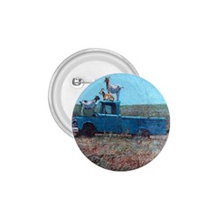 Goats On A Pickup Truck 1 75  Buttons