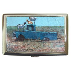 Goats On A Pickup Truck Cigarette Money Cases