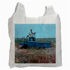 Goats on a Pickup Truck Recycle Bag (Two Side)