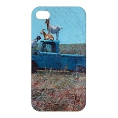 Goats on a Pickup Truck Apple iPhone 4/4S Hardshell Case