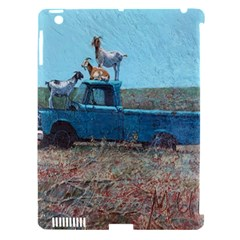 Goats on a Pickup Truck Apple iPad 3/4 Hardshell Case (Compatible with Smart Cover)