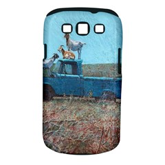 Goats On A Pickup Truck Samsung Galaxy S Iii Classic Hardshell Case (pc+silicone)