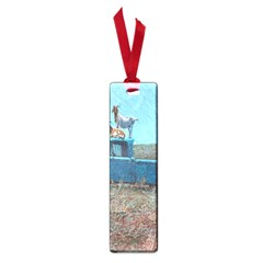 Goats On A Pickup Truck Small Book Marks