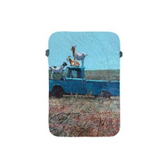 Goats on a Pickup Truck Apple iPad Mini Protective Soft Cases