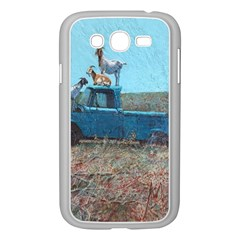 Goats on a Pickup Truck Samsung Galaxy Grand DUOS I9082 Case (White)