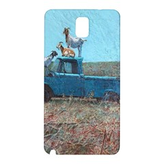 Goats On A Pickup Truck Samsung Galaxy Note 3 N9005 Hardshell Back Case