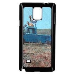Goats On A Pickup Truck Samsung Galaxy Note 4 Case (black)
