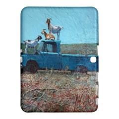Goats On A Pickup Truck Samsung Galaxy Tab 4 (10 1 ) Hardshell Case