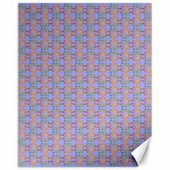 Tropical Fish Blue Canvas 11  X 14