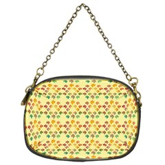 Tropical Fish Yellow Chain Purses (one Side)