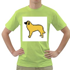Estrela Mountain Dog Silo Color Green T-Shirt