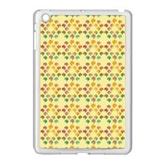 Tropical Fish Yellow Apple Ipad Mini Case (white)