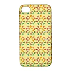 Tropical Fish Yellow Apple Iphone 4/4s Hardshell Case With Stand