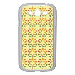 Tropical Fish Yellow Samsung Galaxy Grand Duos I9082 Case (white)