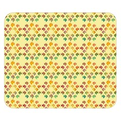 Tropical Fish Yellow Double Sided Flano Blanket (small)