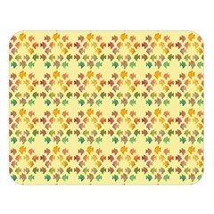 Tropical Fish Yellow Double Sided Flano Blanket (large)