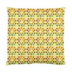 Tropical Fish Yellow Standard Cushion Case (two Sides)
