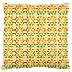 Tropical Fish Yellow Standard Flano Cushion Case (two Sides)