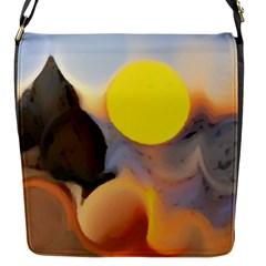 Beach Flap Messenger Bag (s)